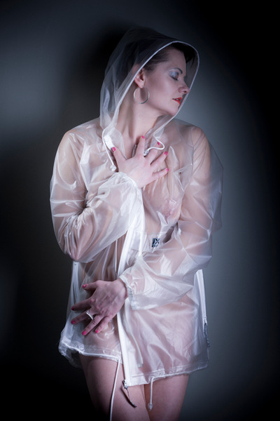 FINE NUDE ART - ANA raincoat