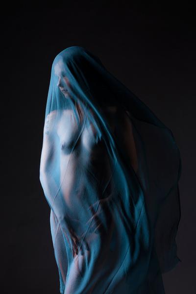 FINE NUDE ART - NADJA foulard
