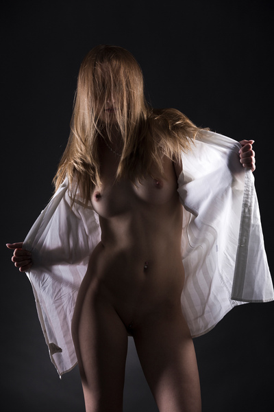 FINE NUDE ART - CARINA his shirt