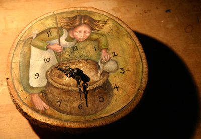 Rima Staines - The Perfumiers Clock