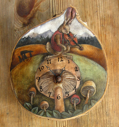 Rima Staines - The Hare Mycomusicologist Clock