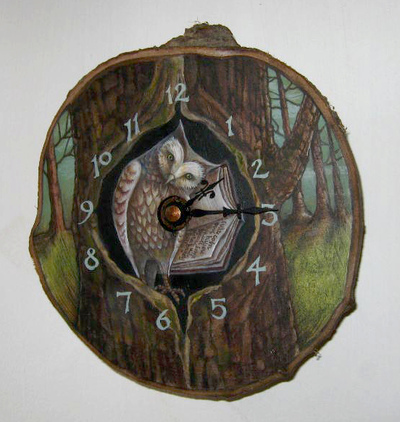 Rima Staines - The Word-Owl Clock