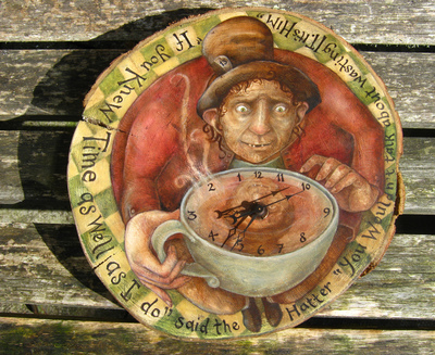 Rima Staines - The Mad Hatter Clock