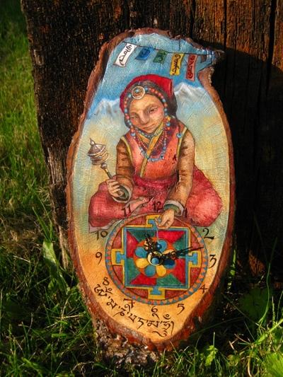 Rima Staines - The Mani Clock