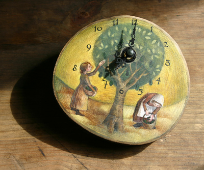 Rima Staines - The Avocado Tree Clock