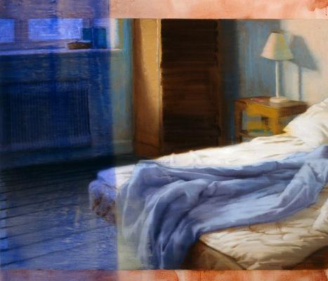 Fredrik Landergren - artist in Stockholm - The undone bed