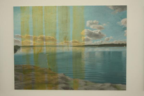 Fredrik Landergren - artist in Stockholm - Stillness over Lövstafjärden