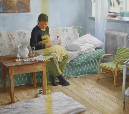 Fredrik Landergren - artist in Stockholm - Mother and child