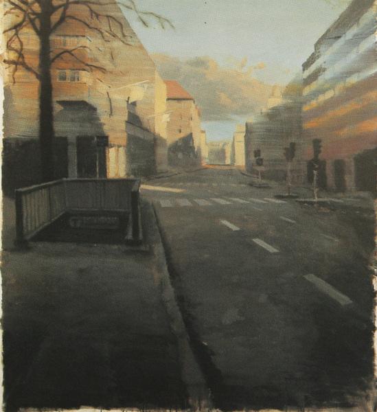 Fredrik Landergren - artist in Stockholm - S:t Eriksgatan, sunday morning