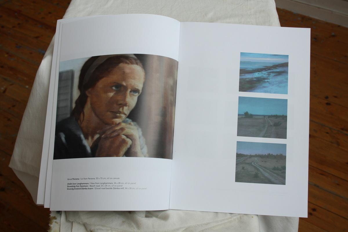 Fredrik Landergren - artist in Stockholm - Liv from Persona & Fårö landscapes