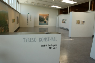 Lunchvisning torsdag 12 juni 2014, av utställningen på Tyresö Konsthall.