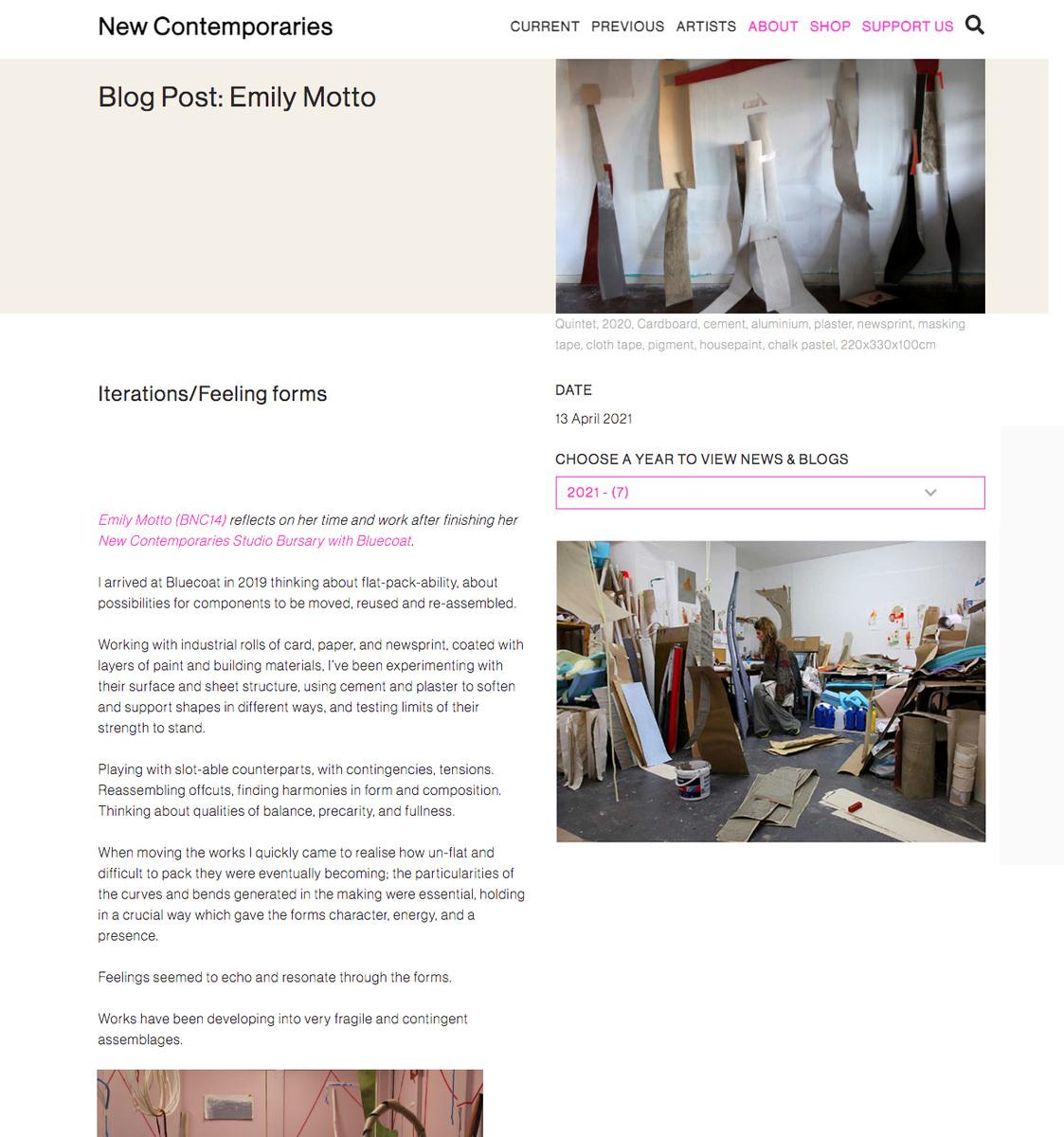 Emily Motto - https://www.newcontemporaries.org.uk/news/blog-post-emily-motto1