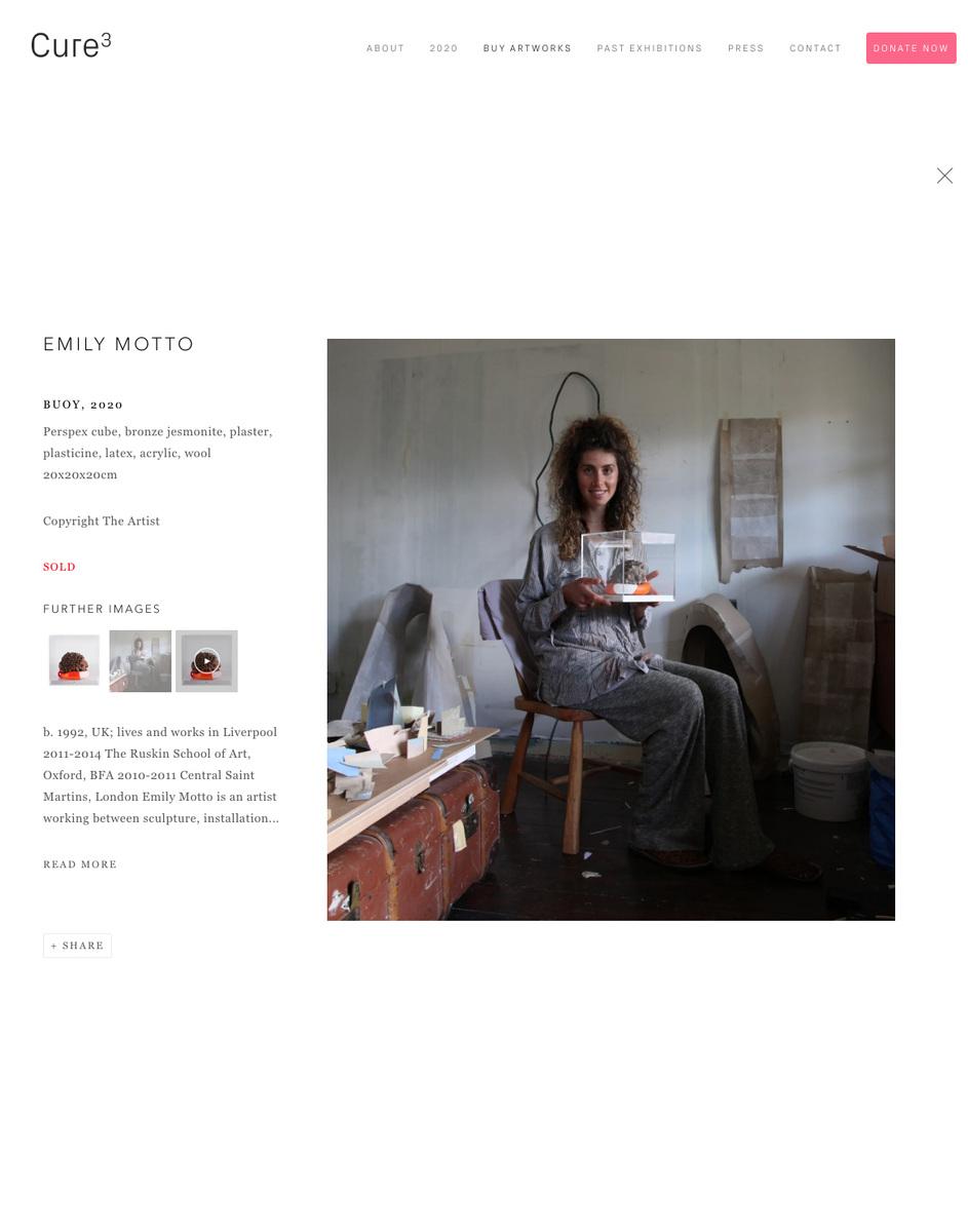 Emily Motto - https://cure3.co.uk/2020