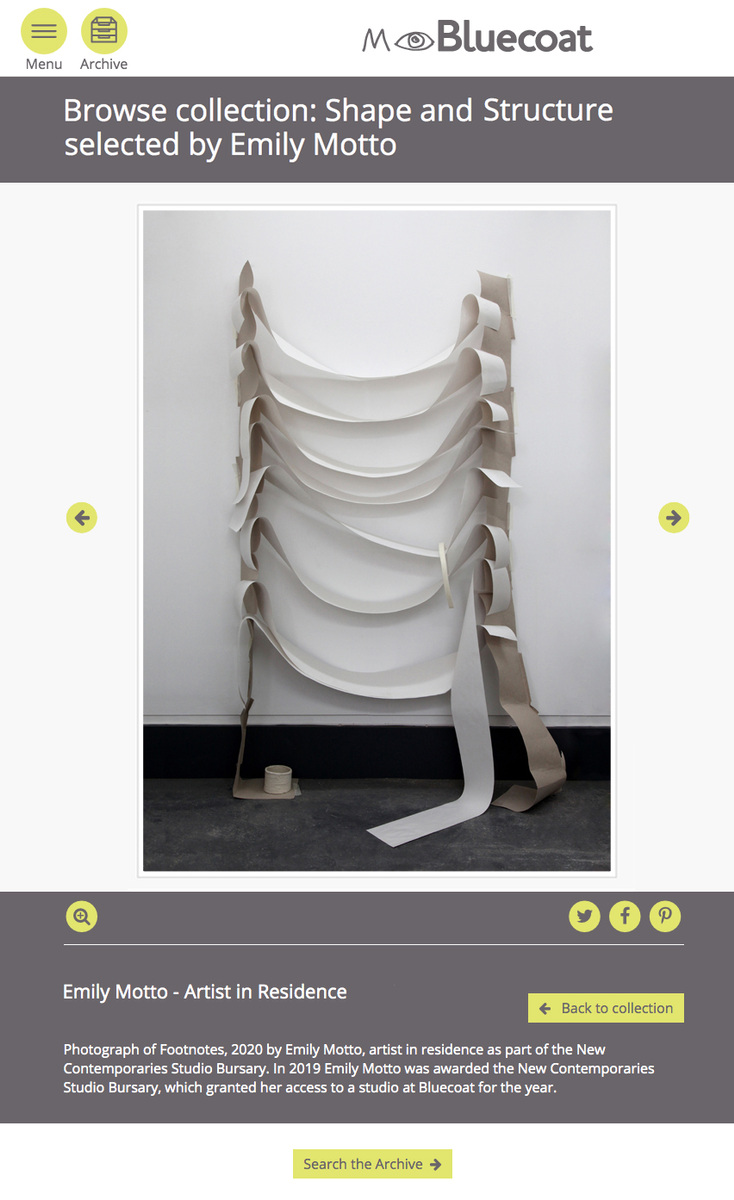 Emily Motto - https://mybluecoat.org.uk/collections/shape-and-structure/