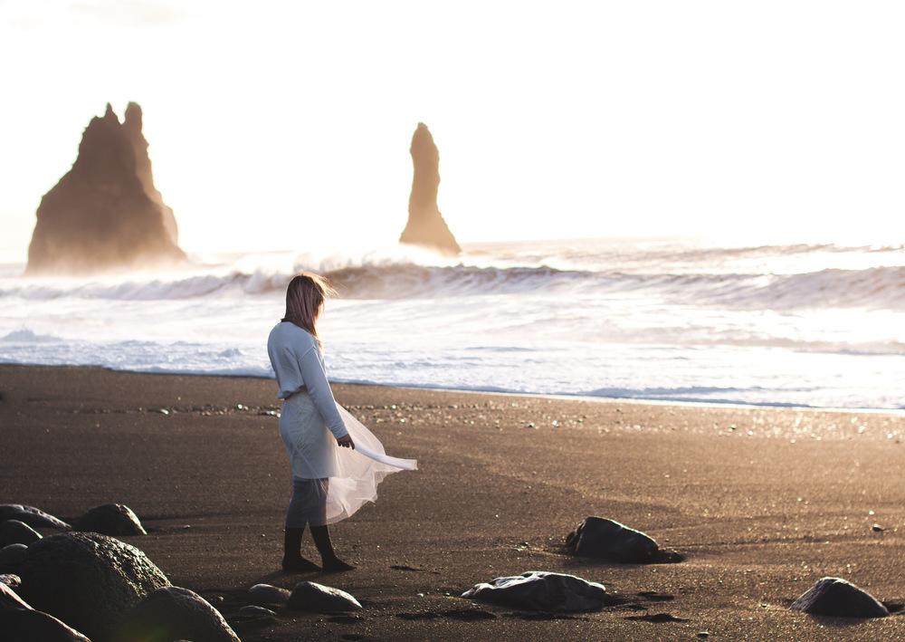 Broken Sundowns - Reynisfjara, Iceland.