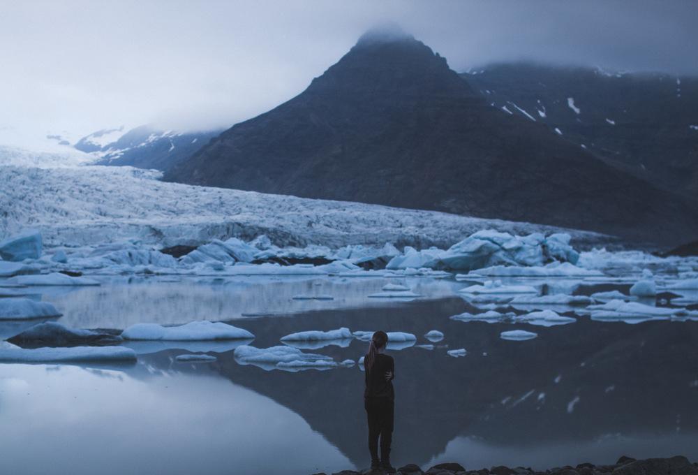 Broken Sundowns - Fjallsarlon, Iceland.