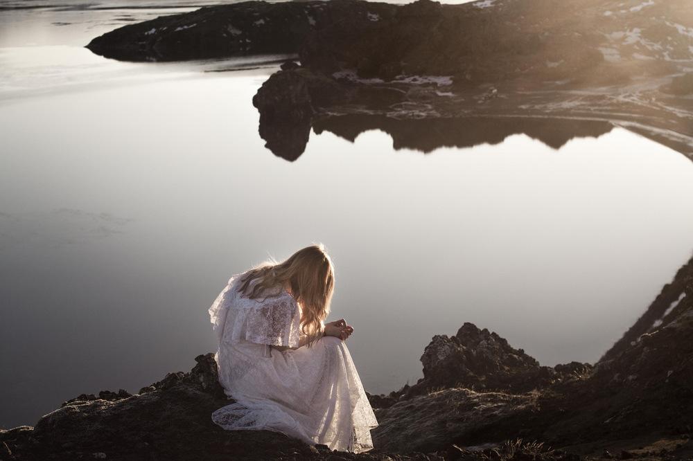 Broken Sundowns - Kleifarvatn, Iceland.