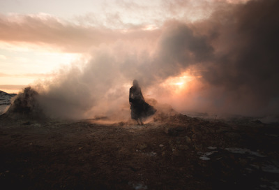 Broken Sundowns - Hverir, Iceland.
