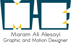 Maram Alesayi | Graphic and Motion Designer