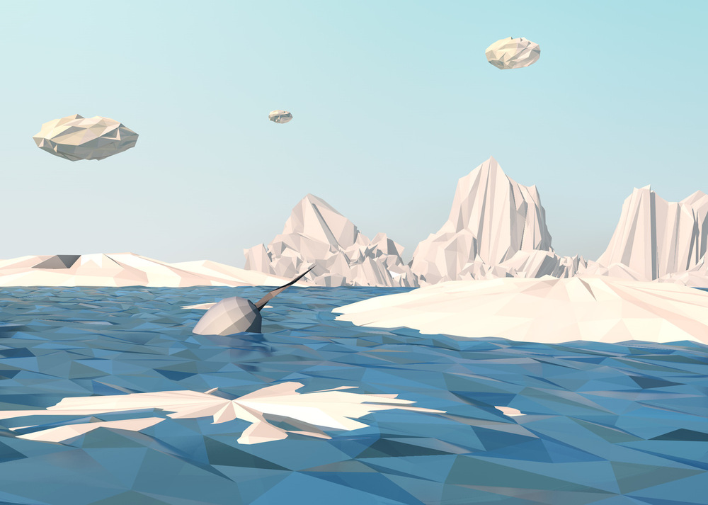 Maram Alesayi | Graphic and Motion Designer - Poly World Arctic