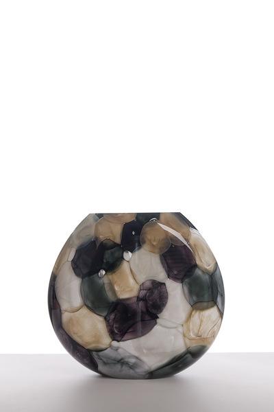 Valner Glass s.r.o. - Aquarelle vase - Grey  Code: V0717 Grey