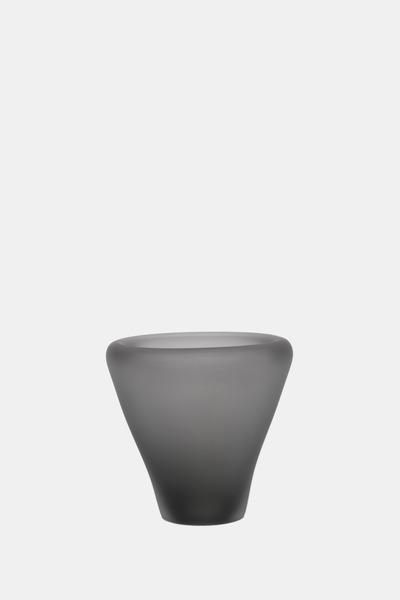 Valner Glass s.r.o. - Flowerpot _mi__ small, grey velvet  Code: MI_SM02GRY_V