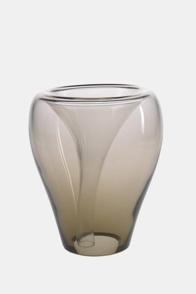 Valner Glass s.r.o. - Flowerpot _mi__ large, olive  Code: MI_LG02OL