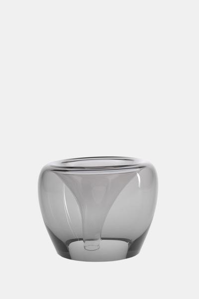 Valner Glass s.r.o. - Flowerpot _mi__ medium, grey  Code: MI_MD02GRY