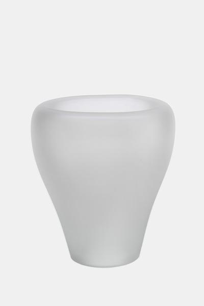 Valner Glass s.r.o. - Flowerpot _mi__ large, clear velvet  Code: MI_LG01VEL