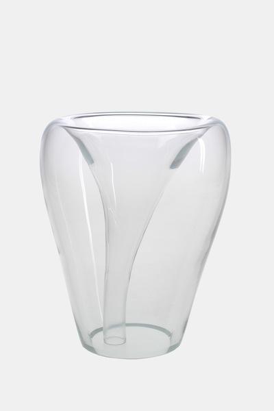 Valner Glass s.r.o. - Flowerpot _mi__ large, clear  Code: MI_LG01CLR