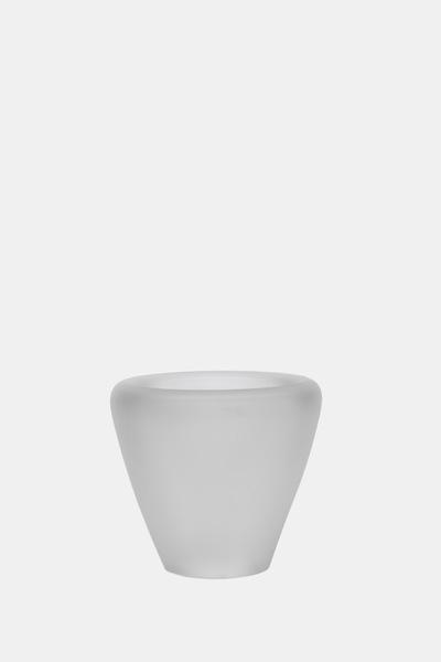 Valner Glass s.r.o. - Flowerpot _mi__ small, clear velvet  Code: MI_SM01VEL