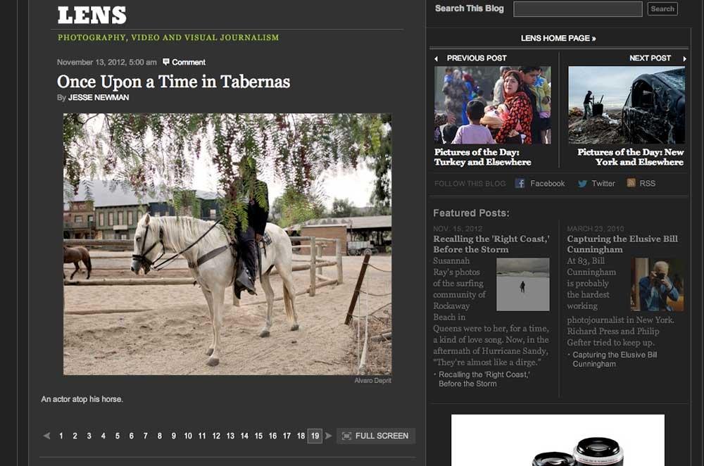 www.alvarodeprit.com - Lens NYT