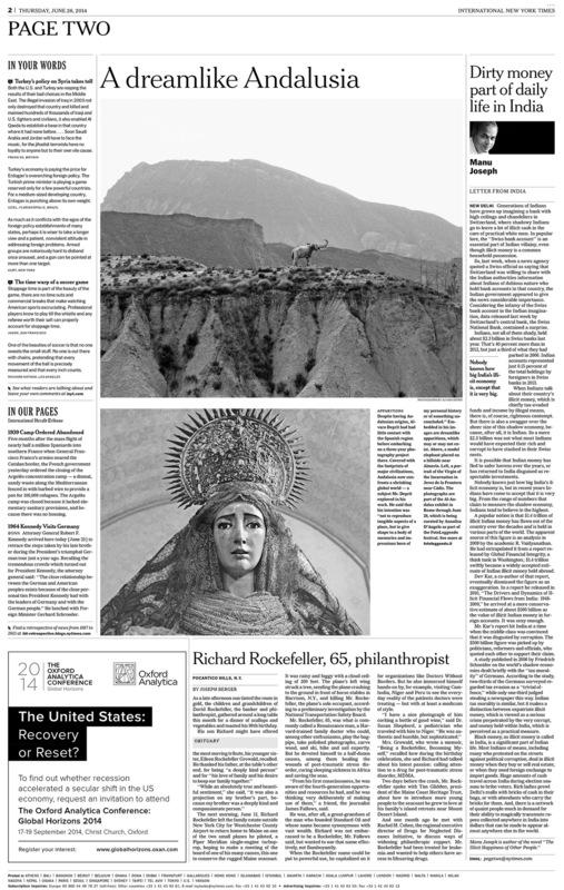 www.alvarodeprit.com - New York Times