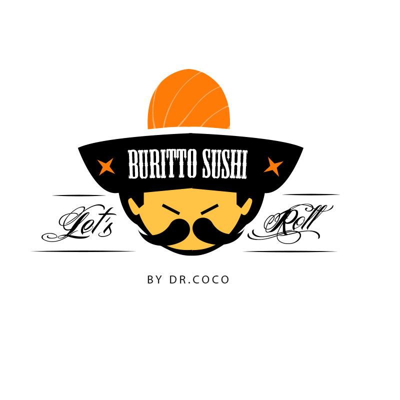 4thdimensionofcreativity - Burito Sushi Logo