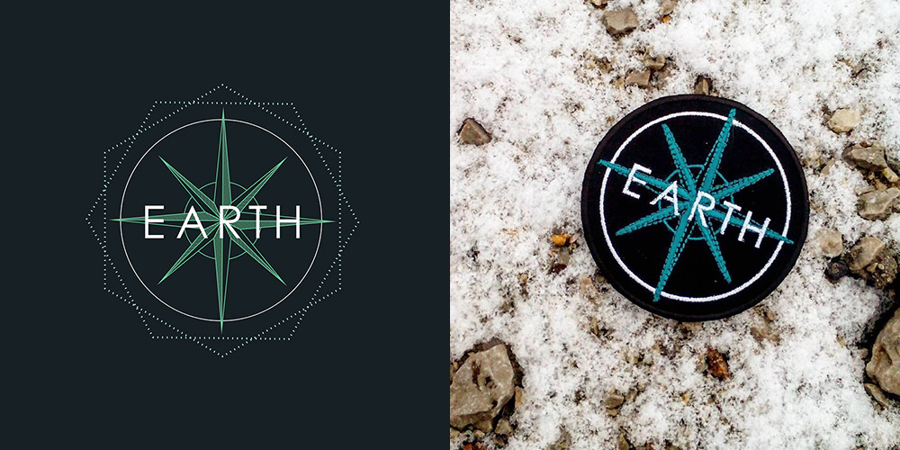 4thdimensionofcreativity - Earth Logo and Label based on my Design