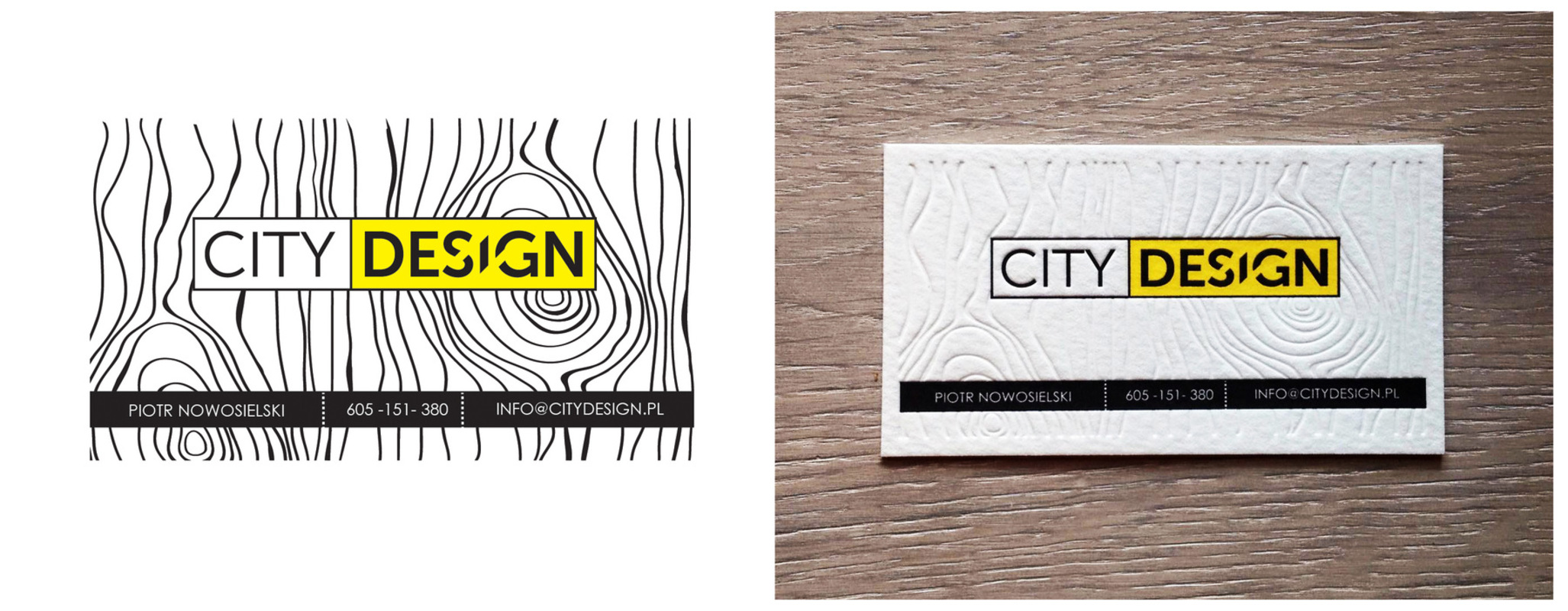 4thdimensionofcreativity - City Design Buisness Card