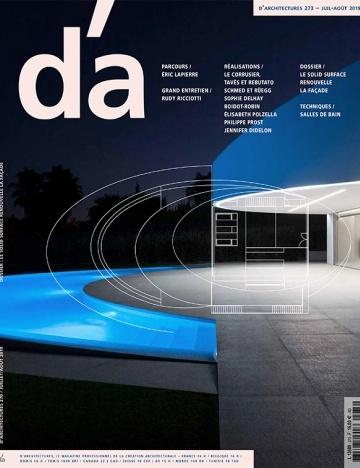 Nicolas Favet Architectes - 08/07/2019 Publication sur le projet du Learning Centre du Campus Lyon 2 à Bron dans le magazine dA