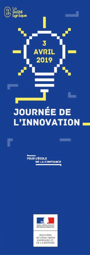 Nicolas Favet Architectes - 03/04/2019 Participation aux Journées de lInnovation du Ministère de lEducation Nationale et de la Jeunesse à la Gaîté Lyrique