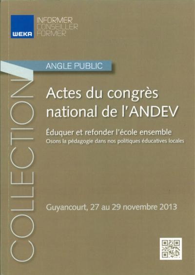 Nicolas Favet Architectes - 23/01/2015 Actes du congrès national de lANDEV