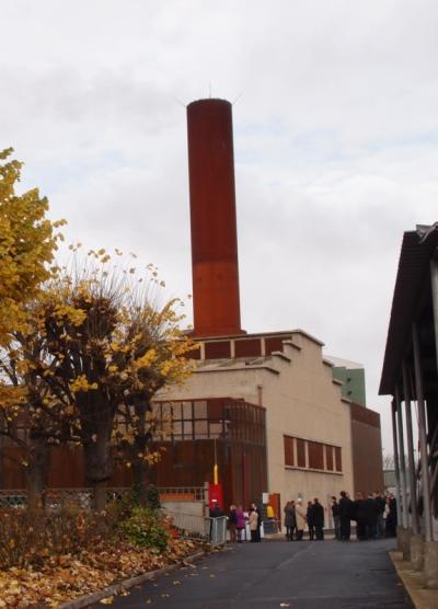 Nicolas Favet Architectes - 27/11/2014 Inauguration de la nouvelle centrale dénergie de lhôpital Avicenne à Bobigny