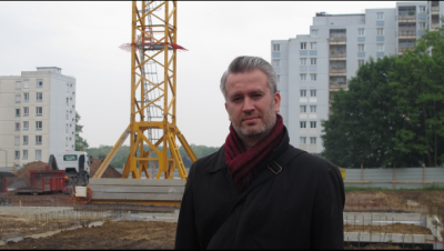 Nicolas Favet Architectes - 26/05/2014 Pose de la première pierre du Groupe scolaire Grande Résidence à Lens