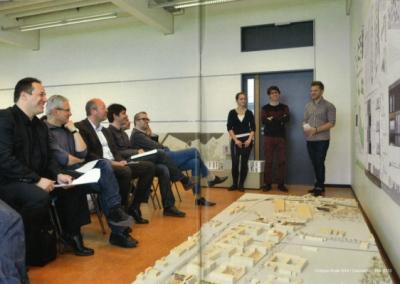 Nicolas Favet Architectes - 17-18/12/2014 Nicolas Favet expert extérieur à lEPFL. Atelier du Prof. Emmanuel REY