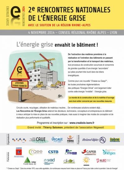 Nicolas Favet Architectes - 04/11/2014 Conférence de Nicolas Favet aux rencontres de lénergie grise à Lyon