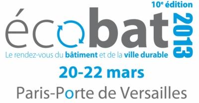 Nicolas Favet Architectes - 20-22/03/2013 Participation au salon Ecobat à Paris - porte de Versailles