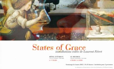 Nicolas Favet Architectes - 06/03/2015 Vernissage de lexposition States of Grace / Installations vidéo de Laurent Fiévet / Concept Scénographique Nicolas Favet