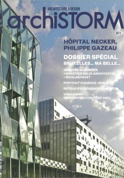 Nicolas Favet Architectes - 16/03/2015 Le Groupe scolaire Abdelmalek Sayad publié dans la revue Archistorm #71