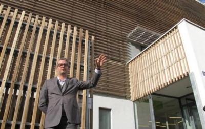 Nicolas Favet Architectes - 10/10/2012 Inauguration de la pépinière dentreprises du Sanitas à Tours