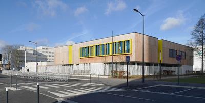 Nicolas Favet Architectes - 31/08/2015 Livraison du Groupe scolaire Thérèse Cauche à Lens