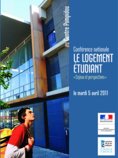 Nicolas Favet Architectes - 05/04/2011 Participation à la conférence nationale sur le Logement Etudiant