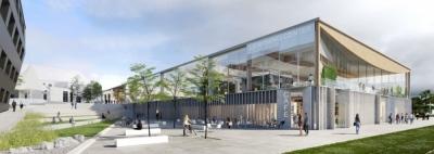 Nicolas Favet Architectes - 11/03/2019 Conférence de Presse: NFA lauréat du concours pour la construction du Learning Centre de lUniversité de Lyon 2 à Bron